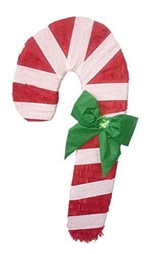 Christmas Pinata.Amazon Com Apinata4u Candy Cane Christmas Pinata Toys Games