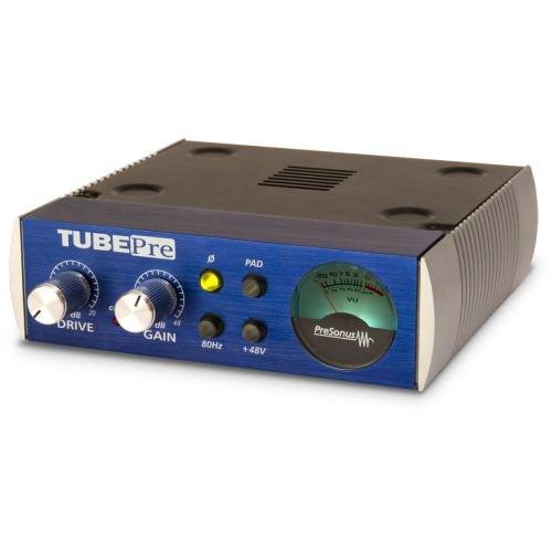 Microphone Preamp Tube Channel (Presonus StudioChannel Studio Channel Recording Vacuum Tube Mic Preamp Strip)