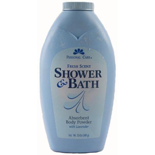 Personal Care Fresh Shower/Bath Body Powder, 13 Ounce from personal care