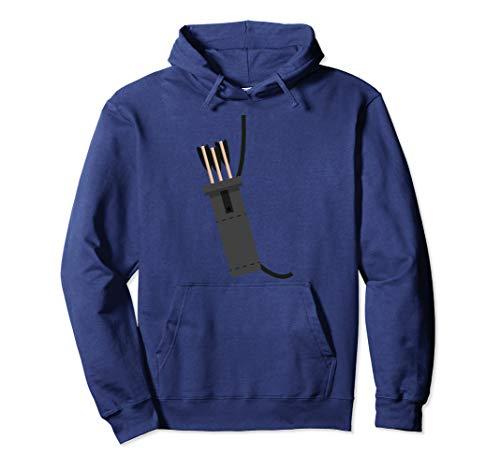 Archer Costume Halloween Hoodie - Funny Archery Arrow Gift ()