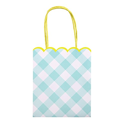 am Party Bags (Border Blue Gingham)
