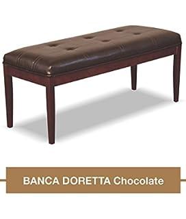 Poundex F1344 Banca para Comedor, Estilo Contemporáneo, Color Café y ...