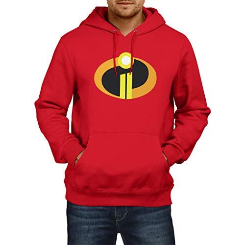 c628856bb Jual Decrum Mens Red Incredibles 2 Hoodie Merchandise Gift - Hoodies ...