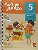 capa de Aprender Juntos História - 5º Ano - Base Nacional Comum Curricular