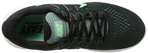 Nike Herren Lunarglide 8 Laufschuhe Kanone / Grünes Glühen / Schwarz / Hasta