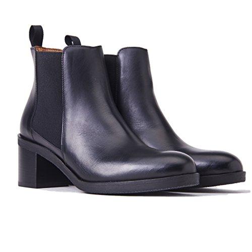 nero Frau 81P4 Polacchini donna scarpe tpWcUtHyr