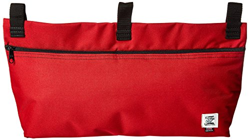 Handi Pockets 2b6rd Storage Accessory Walker, Cordura, Red with Zipper by Handi Pockets