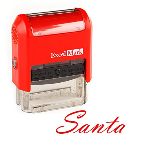 Santa's Signature Rubber Stamp