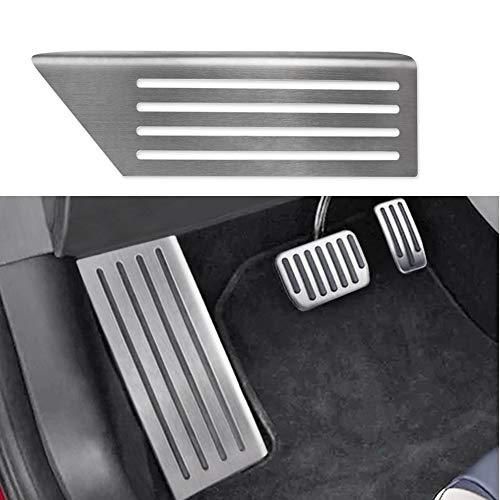 - BASENOR Foot Rest Dead Pedal Cover for Tesla Model 3