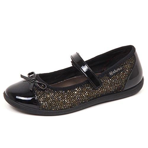 Girl Oro Tissue Nero oro Ballerina Bimba Kid Naturino E2614 Shoe Baby Glitter Nero tvqxw7xnP