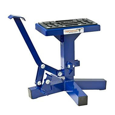 Pit Posse Motorcycle Dirt bike MX Offroad Lift Stand Blue YZ YZ250F WR