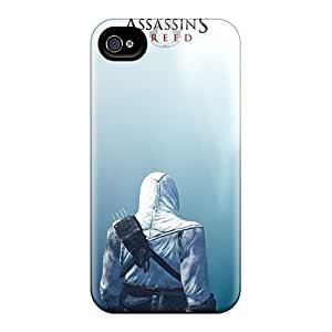Iphone 4/4s Yln2502Irzk Provide Private Custom Vivid Assassins Creed Image Scratch Protection Hard Cell-phone Case -AlainTanielian