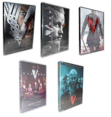 Price comparison product image Vikings - The Complete Seasons 1-4 (volume 1 & 2) 15-Disc Set