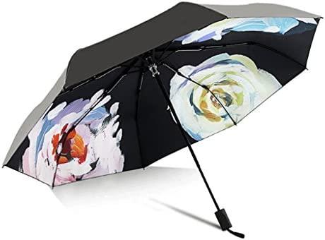 Paraguas HUXIUPING Sombrilla Parasol Pintado a Mano ...