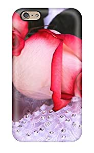 For Iphone 6 Premium Tpu Case Cover Flower Protective Case