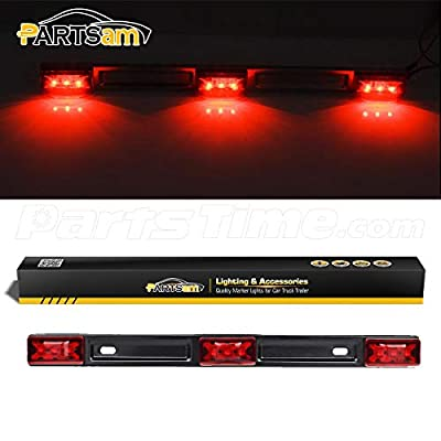Partsam Truck Trailer ID Light Bar