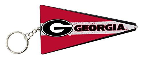 Georgia Bulldogs Pennant Key Chain