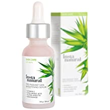 Instanatural Vitamin C Skin Brightening Serum - Anti Wrinkle, Fine Line, Hyperpigmentation & More Serum For Face - Eye Bag & Age Eraser Facial Formula - With Hyaluronic Acid & Niacinamide - 1 oz