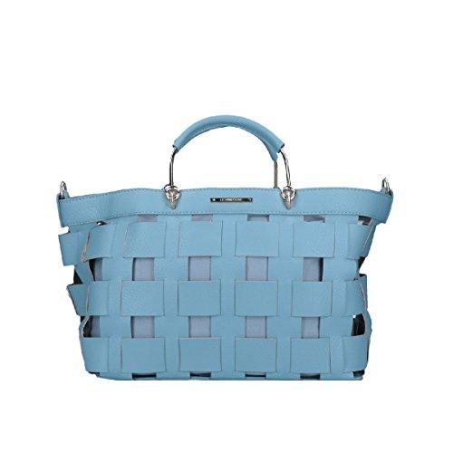 Suministro De Venta Comprar Colecciones Baratas LE PANDORINE borsa Basket Mini DECISIONE light blue hzLDPWX6Y