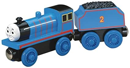 Buy Thomas And Friends Wooden Railway Edward The Blue Engine
