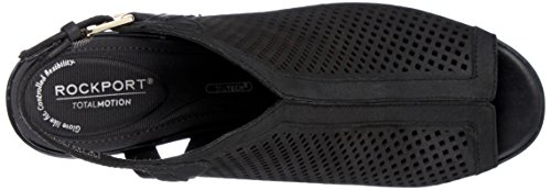 Sandals Shoo Motion Women's Perf Toe Black Rockport Open Trixie Total wqvXp68