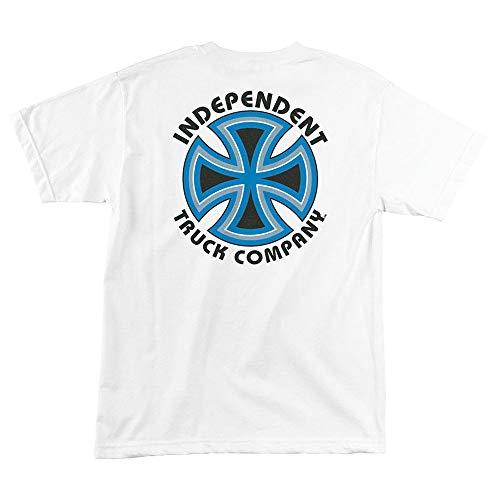Independent Trucks Bauhaus Cross Men's Short Sleeve T-Shirt - White - XL