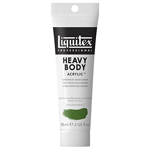 Liquitex Professional Heavy Body Acrylic Paint 2-oz tube, Chromium Oxide Green (Green Body Paint compare prices)
