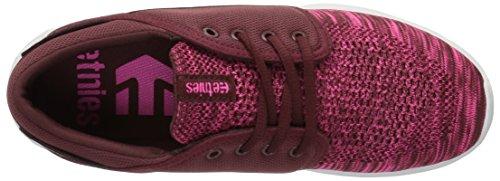 Etnies Scout Yb W's, Zapatillas de Skateboarding para Mujer Rot (602 , BURGUNDY)