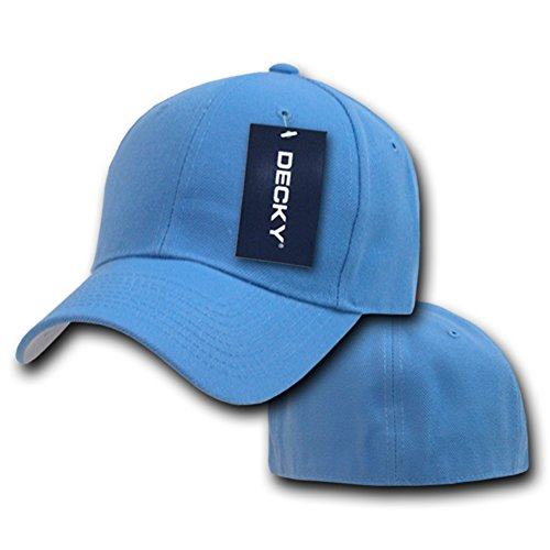 Fitted Color Hombre Decky Azul Talla 25 Size Gorra para qCdww1gI