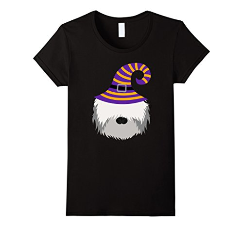 Womens Bearded Collie dog lover gifts funny halloween shirt XL Black -