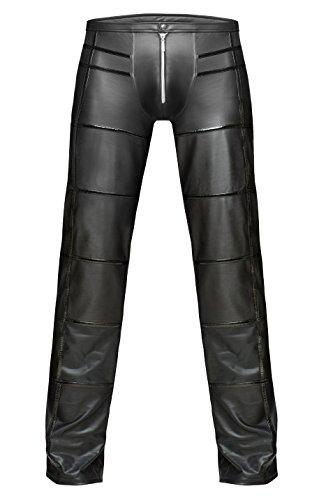 Homme Pantalon Slim sachen Noir kleine Unique Taille 1001 qwUp77