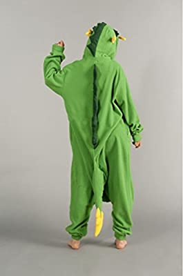 FashionFits Unisex Animal Cosplay Dragon Jumpsuit Pajama Costumes One Piece