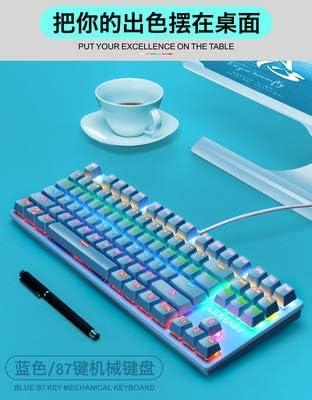 Chicas 87-verdadera clave teclado mecánico eje verde del ...