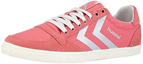 Hummel Sl Stadil Pastels Lo, Baskets Basses femme Rose - Pink (Durbarry 4068)