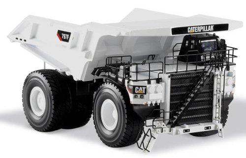 (Norscot 1/50 CAT Caterpillar 797F Mining Truck Dumper - White Special 55243 toy )