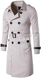 Amazon.com: White - Trench & Rain / Jackets & Coats: Clothing