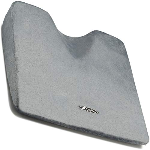 Aylio Comfort Foam Wedge Coccyx Cushion for a Car Seat or...
