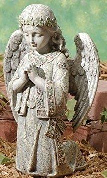 Celtic Kneeling Angel Statue