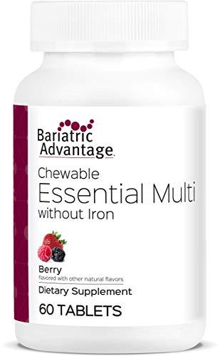 Bariatric Advantage - Essential Chewable Multivitamin - Berry, 60 Count ()