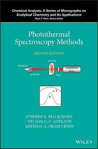 Photothermal Spectroscopy Methods, 2nd Edition Front Cover