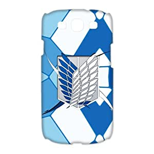 attack on titan survey corps Custom Case for Samsung Galaxy S3 I9300 (3D)