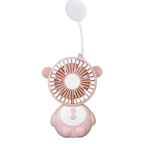 UIFIDI New 2019 Monkey Elf Table Lamp Fan is Also Mobile Power (Best Standing Fans 2019)