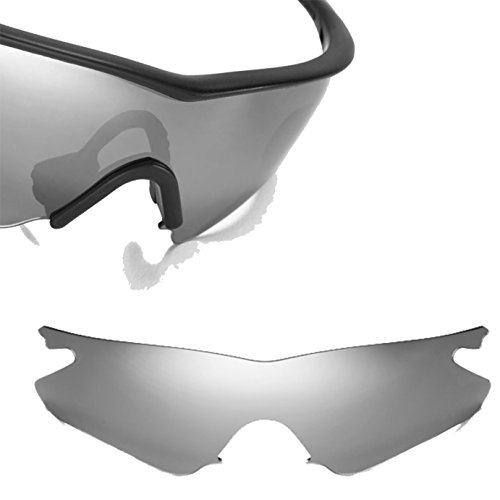 Best SEEK OPTICS Replacement Lenses Oakley M FRAME HEATER Asia Fit - Polarized Silver - Oakley Cheap Frame M