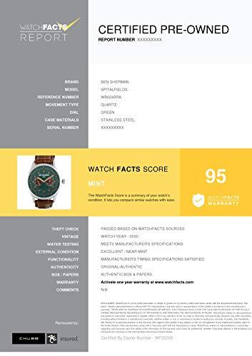 Ben Sherman Spitalfields Quartz Male Watch WB024BRA (Certified Pre-Owned) by Ben Sherman (Image #4)