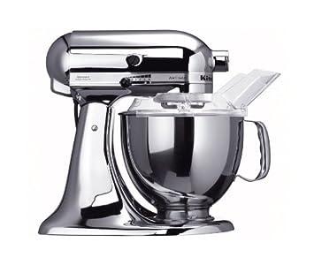 Amazon.de: KitchenAid Küchenmaschine Artisan chrom 5KSM150PSECR