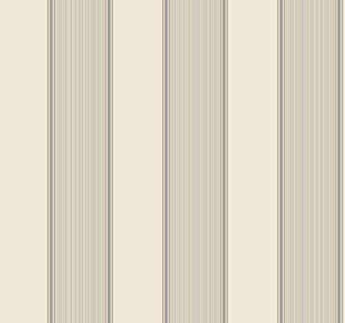 (Décor Direct YWGS6216 Somerset Strié Stripe Removable Wallpaper, x 27 ft. = 60.75 sq.ft, Whites)
