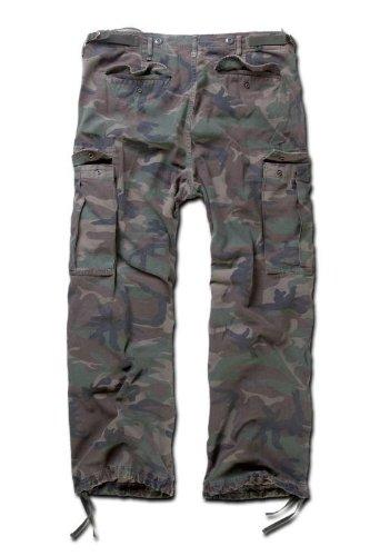 Brandit M-65 Vintage Trousers Woodland Size M