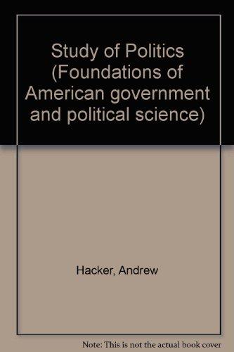 foundations of politics Political citizenship: foundations of rights : handbook of citizenship s   2 de 16 04-09-2009 15:54.