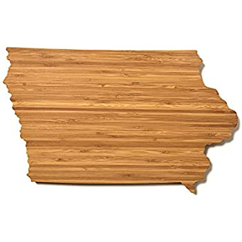 AHeirloom State of Iowa Cutting Board