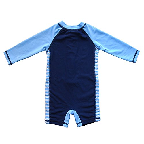 Large Product Image of Baby Beach One-Piece Swimsuit UPF 50+ -Sun Protective Sunsuit
